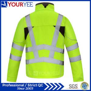 Affordable Waterproof Hi Viz Workwear Soft Shell Fleece Jacket (YFG113) pictures & photos