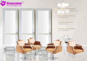 Popular High Quality Salon Mirror Barber Chair Salon Chair (P2016F) pictures & photos