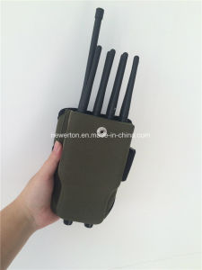 Universal 8-Band Handheld Cellular Phone Jammer GPS Lojack Jammer WiFi Blocker pictures & photos