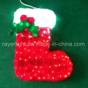 LED Hanging Ornament Christmas Window Decorations pictures & photos
