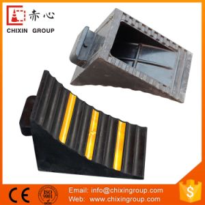 Car Wheel Safety Rubber Chock pictures & photos