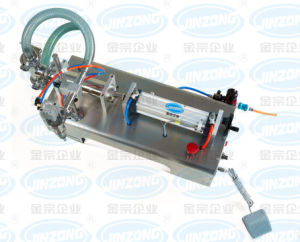 Semi-Auto Samll Bottle Filling Machine pictures & photos