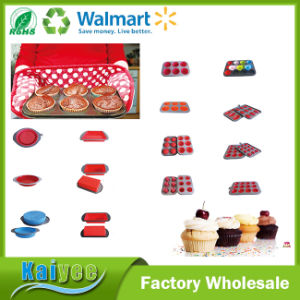 High Quality Kitchen Loaf Muffin Pan with Metal Frame pictures & photos