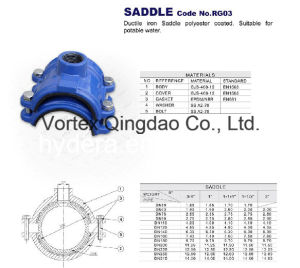 Ductile Iron Pipe Saddle Vortex pictures & photos