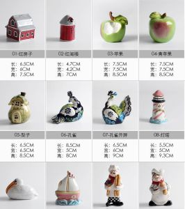 OEM Different Shaped Ceramic Salt Pepper and Shaker pictures & photos