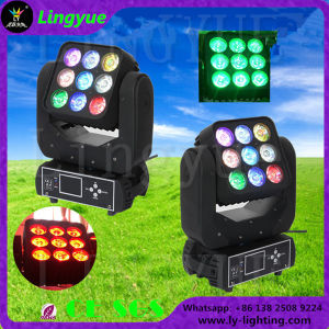 Ce RoHS 9X12W DJ Stage Moving Head Power LED Matrix pictures & photos