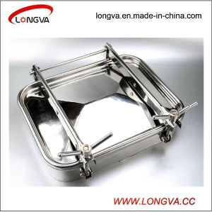 Sanitary Stainless Steel Rectangular Manhole Door pictures & photos