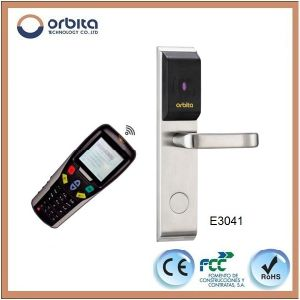 Orbita Factory Price Waterproof RFID Hotel Electronic Door Lock with System E3041 pictures & photos
