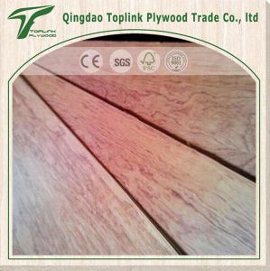 High Quality Low Price Fancy Plywood Bubinga Decoration Laminated Plywood pictures & photos