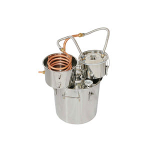 30L/8gal Counter Top Home Brandy Distiller Wine Distillation Equipment pictures & photos