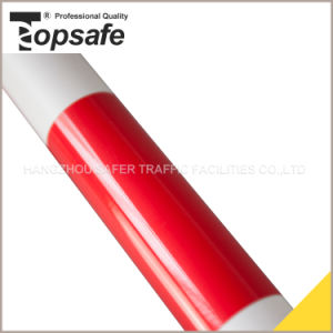 Red/White Color Single Side Extendable Cone Bar/Traffic Cone Bar (S-1481B) pictures & photos