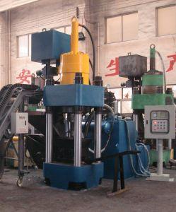 Aluminum Scrap Hydraulic Briquetting Press Metal Scrap Briquette Machine-- (SBJ-500) pictures & photos