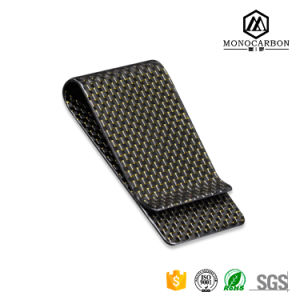 2017 New Unisex Carbon Fiber Material Money Wallet Custom Clip pictures & photos