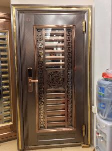 Color Stainless Steel Door (S-3024) pictures & photos