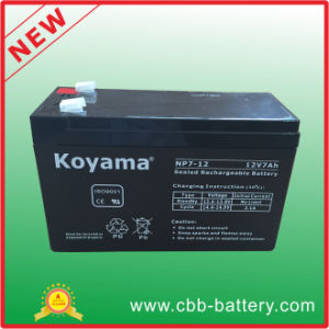 Factroy 12V7ah Mf Lead Acid Battery pictures & photos