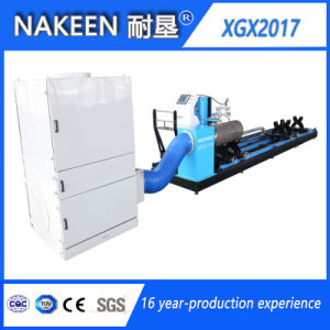 Five Axis CNC Intersection Line Pipe Cutting Machine