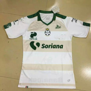 2017 Santos White Soccer Jersey pictures & photos