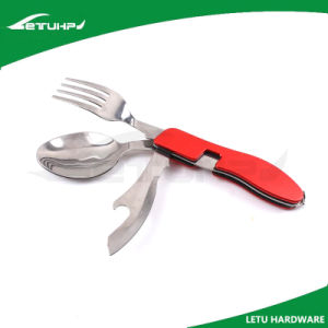 Camping Folding Stainless Steel Knife Spoon Fork Set pictures & photos