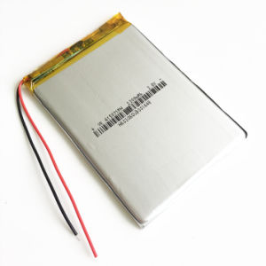 3.7V 2300mAh 415071 Lithium Polymer Lipo Rechargeable Battery pictures & photos