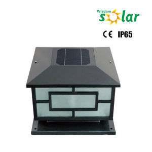 Outdoor Garden Decoration Square Solar Fence Post Lights LED pictures & photos