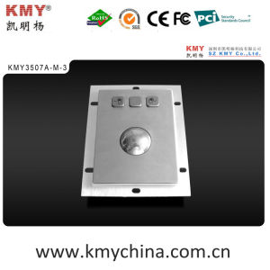 Stainless Steel Mechanical/Optical Trackball Mouse (KMY3507A-M-3) pictures & photos