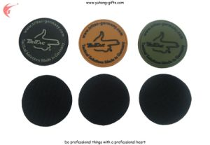 OEM Flag Rubber Label for Bag (YH-L034) pictures & photos
