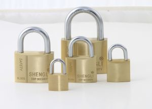 High Quality Europe Type MID-Heavy Duty Brass Padlock Factory Price pictures & photos