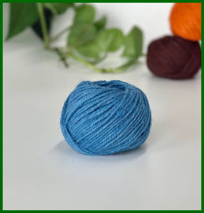 Dyed Jute Fiber Yarn (Blue) pictures & photos