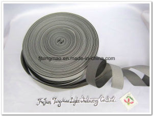 Grey Polyester Webbing Strap for Bags
