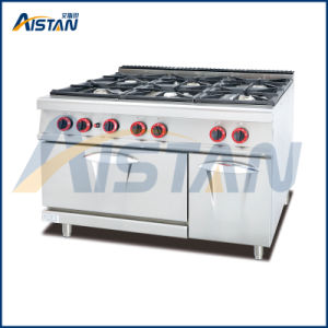 Gh997A 6-Burner with Gas Oven of Cooking Equipment pictures & photos