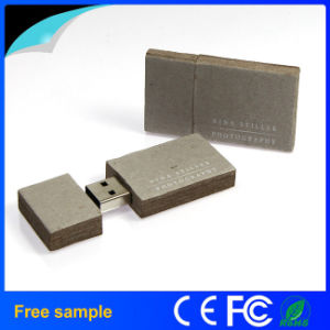 Wholesale Eco Paper Rectangle USB Flash Drive 2GB