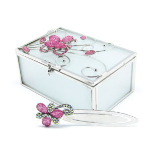 Factory Main Products Fog Glass Jewelry Box Hx-6371 pictures & photos