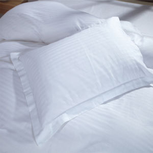 High Quality Hotel Cotton Satin Stripe Pillow Case Pillow Cover