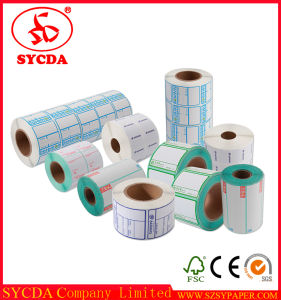 Thermal Adhesive Label Thermal Paper Sticker Made in China pictures & photos