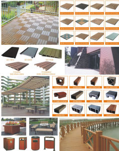 Outdoor Decking WPC / Wood Plastic Composite Decking / Engineering Flooring pictures & photos
