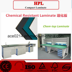 HPL/Compact 12.7mm Labench Chemical Resistant Laminate pictures & photos