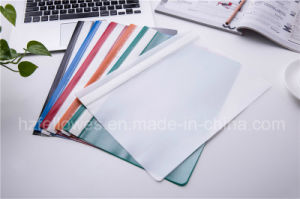 PP Stationery Supplier A4 Report Cover Loose Paper Customized Transparent File Folder pictures & photos