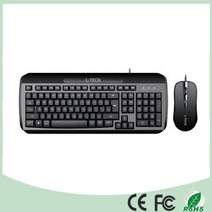 Top Selling Wired Office Keyboard and Optical Mouse Set (KB-C26) pictures & photos