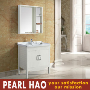 Fashion Classic Tempered Glass Bathroom Vanity Cabinets pictures & photos