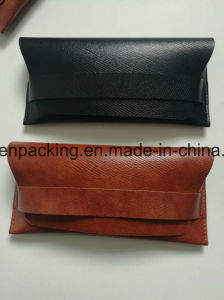 Soft Faux Leather PU Eyeglasses /Sunglasses Case (ZS1) pictures & photos