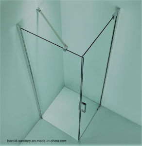 Hr-011 Semi Frameless Shower Enclosure pictures & photos