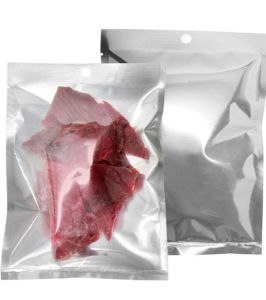 3-Side Seal Aluminum Transparent Food Packaging Bag for Beef Jerky pictures & photos