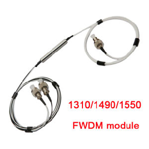 3 Port 0.9mm Fiber Opitc Fwdm Tube Pon Optical Filter pictures & photos