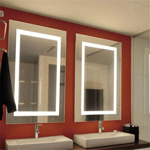 UK Wall Mounted LED Backlit Illuminated Bathroom Mirror pictures & photos