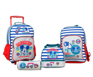 Cool Boys Trolley Bags and Athletic Bags for School Bag Set (BSH20544) pictures & photos