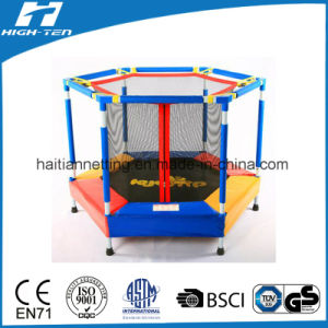 Colourful Mini Trampoline with Safety Net for Kids pictures & photos