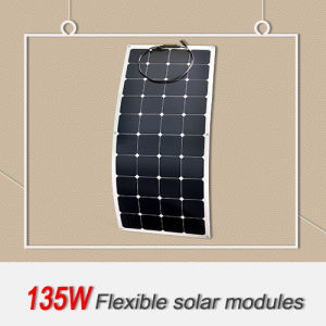 Factory Outlet a High Efficiency Solar Panel 135W
