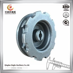 OEM China Sand Casting Products Qt800 Iron Casting with Deburring pictures & photos