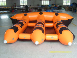 Great Sport Game Towable Inflatable Flying Fish Tube Water Boat (CHW306) pictures & photos