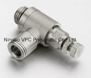 "Push Fitting One Touch Connector Metric-Vmpc-G-06-G02 BSPP 6mm Tube Fitting X G1/4"" pictures & photos"